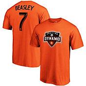 MLS Men's Houston Dynamo DaMarcus Beasley #7 Orange Player T-Shirt