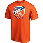 MLS Men's FC Cincinnati Slash Dash Orange T-Shirt