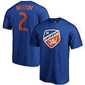 MLS Men's FC Cincinnati Kendall Waston #2 Royal Player T-Shirt