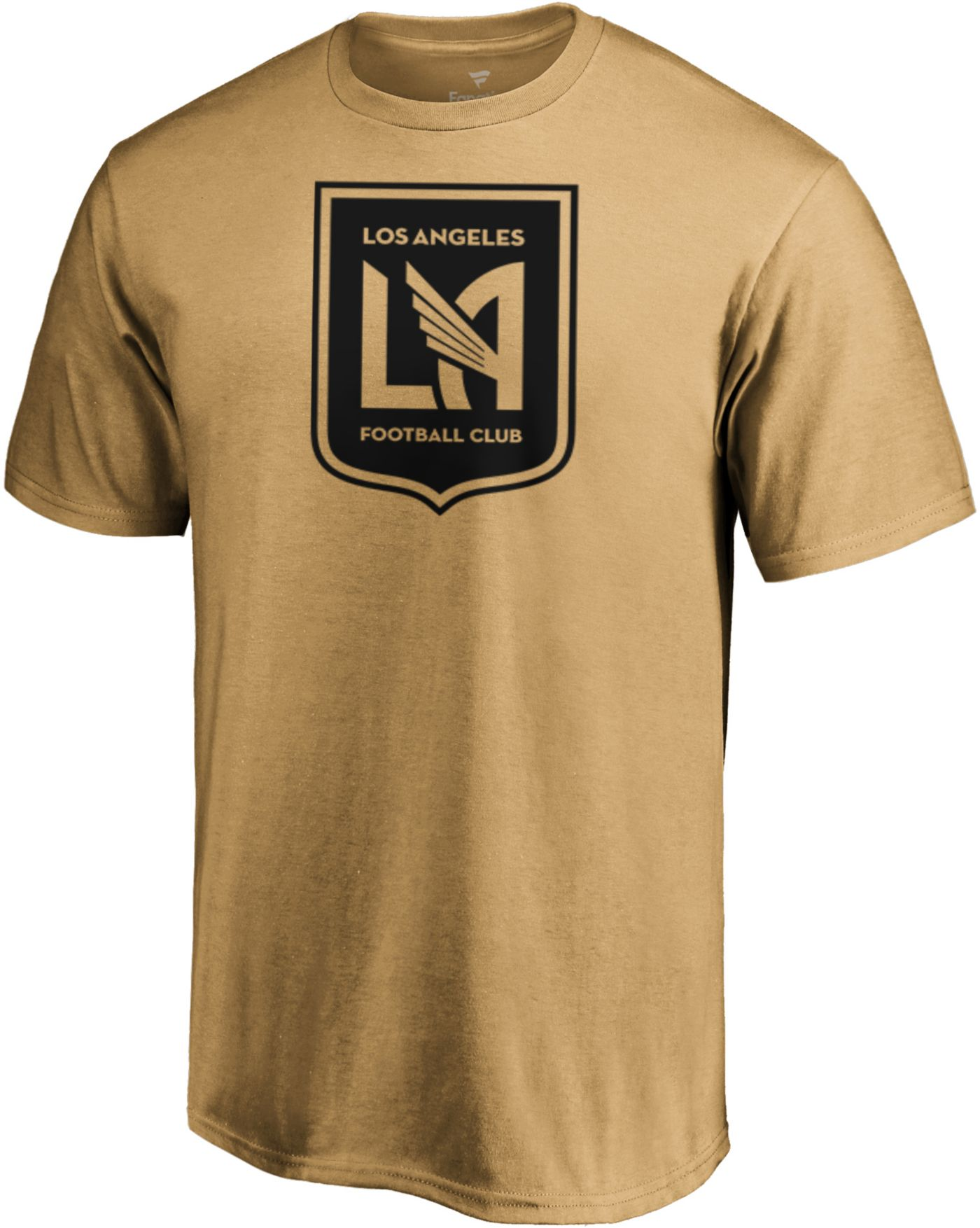 MLS Men's Los Angeles FC Slash Dash Gold T-Shirt