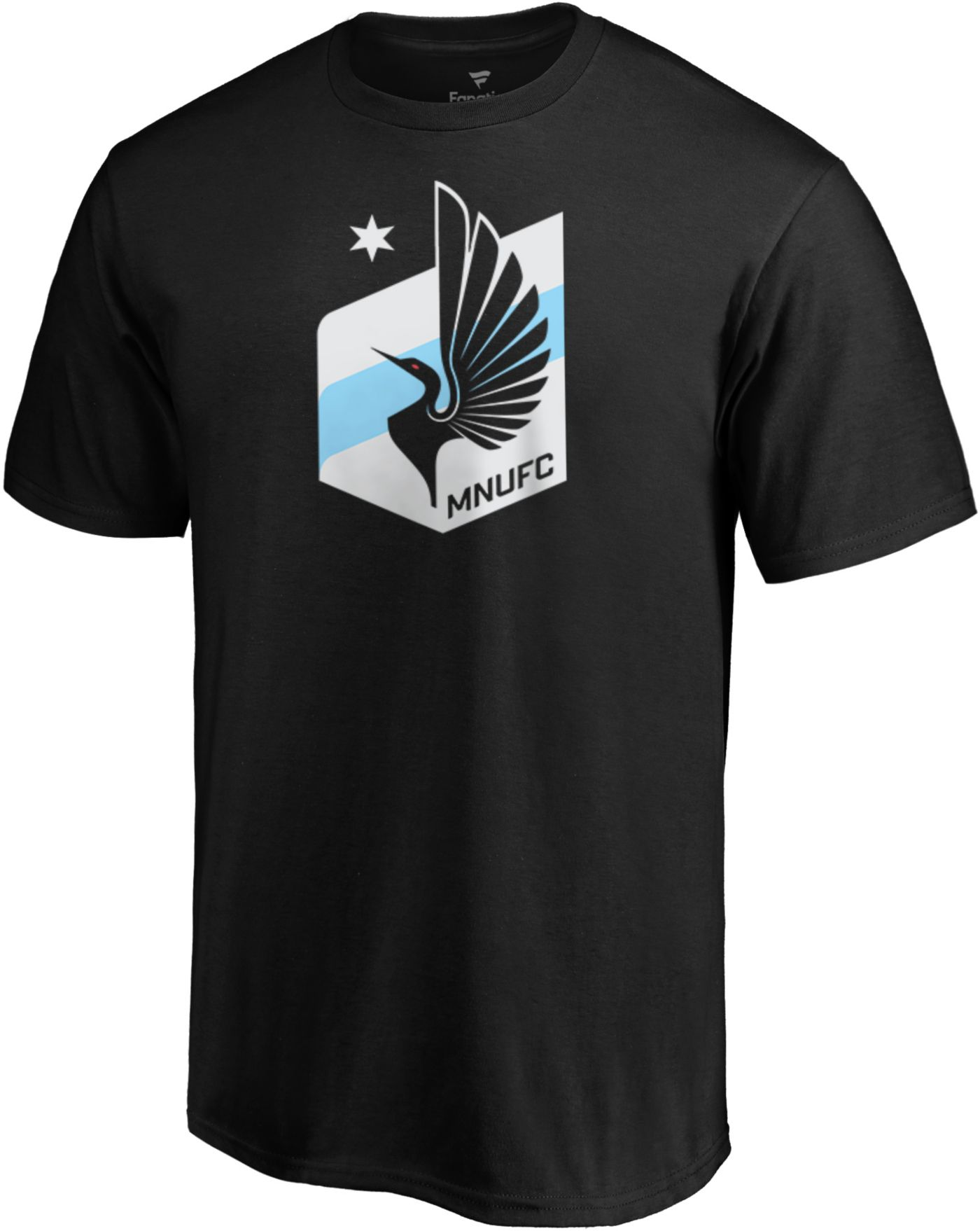 MLS Men's Minnesota United FC Slash Dash Black T-Shirt