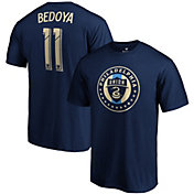 MLS Men's Philadelphia Union Alejandro Bedoya #11 Navy Player T-Shirt
