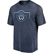 MLS Men's Philadelphia Union Lines Navy T-Shirt