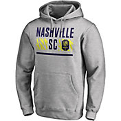 MLS Men's Nashville SC Echo Logo Grey Pullover Hoodie