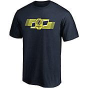 MLS Men's Nashville SC Iconic Scarf Navy T-Shirt