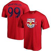 MLS Men's New York Red Bulls Bradley Wright-Phillips #99 Red Player T-Shirt