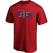 MLS Men's Real Salt Lake Iconic Scarf Red T-Shirt