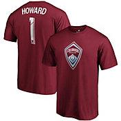 MLS Men's Colorado Rapids Tim Howard #7 Red Player T-Shirt
