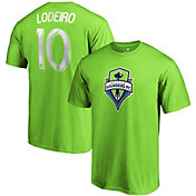MLS Men's Seattle Sounders Nicolas Lodeiro #10 Green Player T-Shirt
