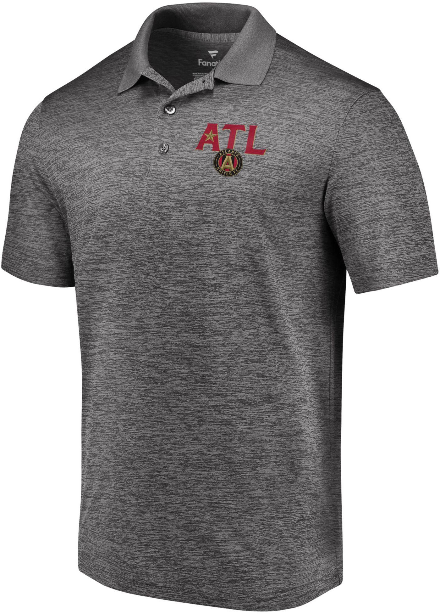 MLS Men's Atlanta United Star Gray Polo