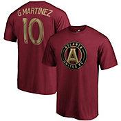 MLS Men's Atlanta United Pity Martinez #10 Red Player T-Shirt