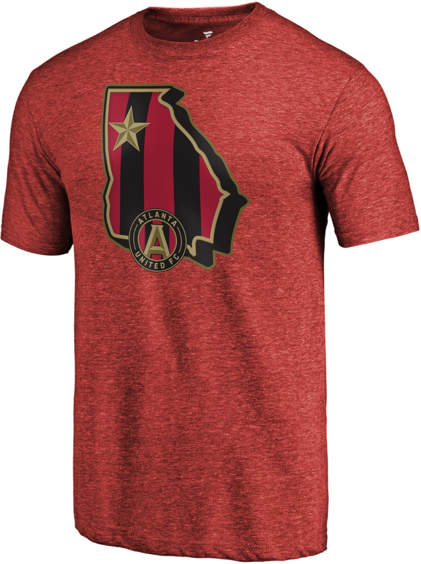 MLS Men's Atlanta United State Star Red T-Shirt