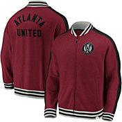 MLS Men's Atlanta United Vintage Varsity Red Full-Zip Jacket