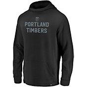 MLS Men's Portland Timbers Running Black Pullover Hoodie