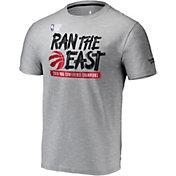 NBA Men's 2019 Eastern Conference Champions Toronto Raptors Grey Locker Room T-Shirt