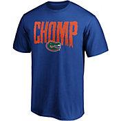 NCAA Men's Florida Gators Blue Chomp T-Shirt