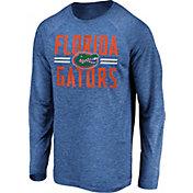 NCAA Men's Florida Gators Blue Iconic Long Sleeve T-Shirt