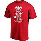 NCAA Men's Wisconsin Badgers Red Jump Around T-Shirt