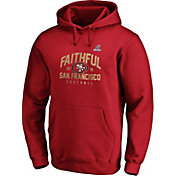 NFL Men's San Francisco 49ers Faithful Red 2019 Playoffs Hoodie