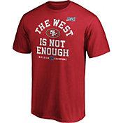 NFL Men's San Francisco 49ers 2019 NFC West Division Champions T-Shirt