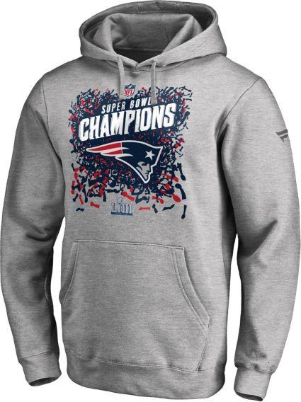 NFL Men s Super Bowl LIII Champions New England Patriots Locker Room Hoodie.  noImageFound 9d66af846