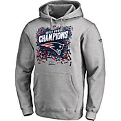 NFL Men's Super Bowl LIII Champions New England Patriots Locker Room Hoodie