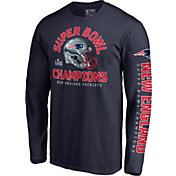 NFL Men's Super Bowl LIII Champions New England Patriots Two Minute Drill Long Sleeve Shirt