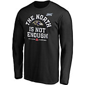 NFL Men's Baltimore Ravens 2019 AFC North Division Champions Long Sleeve Shirt
