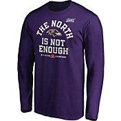 NFL Men's Baltimore Ravens 2019 AFC North Division Champions Long Sleeve Shirt