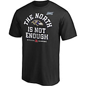 NFL Men's Baltimore Ravens 2019 AFC North Division Champions T-Shirt