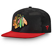 NHL Men's Chicago Blackhawks Iconic Snapback Adjustable Hat