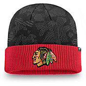 NHL Men's Chicago Blackhawks Iconic Cuff Knit Beanie