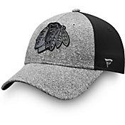 NHL Men's Chicago Blackhawks Marled Adjustable Hat