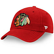 NHL Men's Chicago Blackhawks Primary Logo Adjustable Hat
