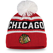 NHL Women's Chicago Blackhawks Pom Knit Beanie
