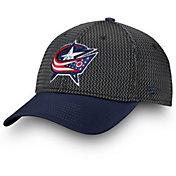 NHL Men's Columbus Blue Jackets Locker Room Participant Flex Hat