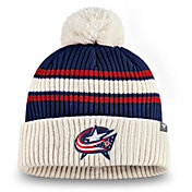 NHL Men's Columbus Blue Jackets Classic Cuff Knit Beanie