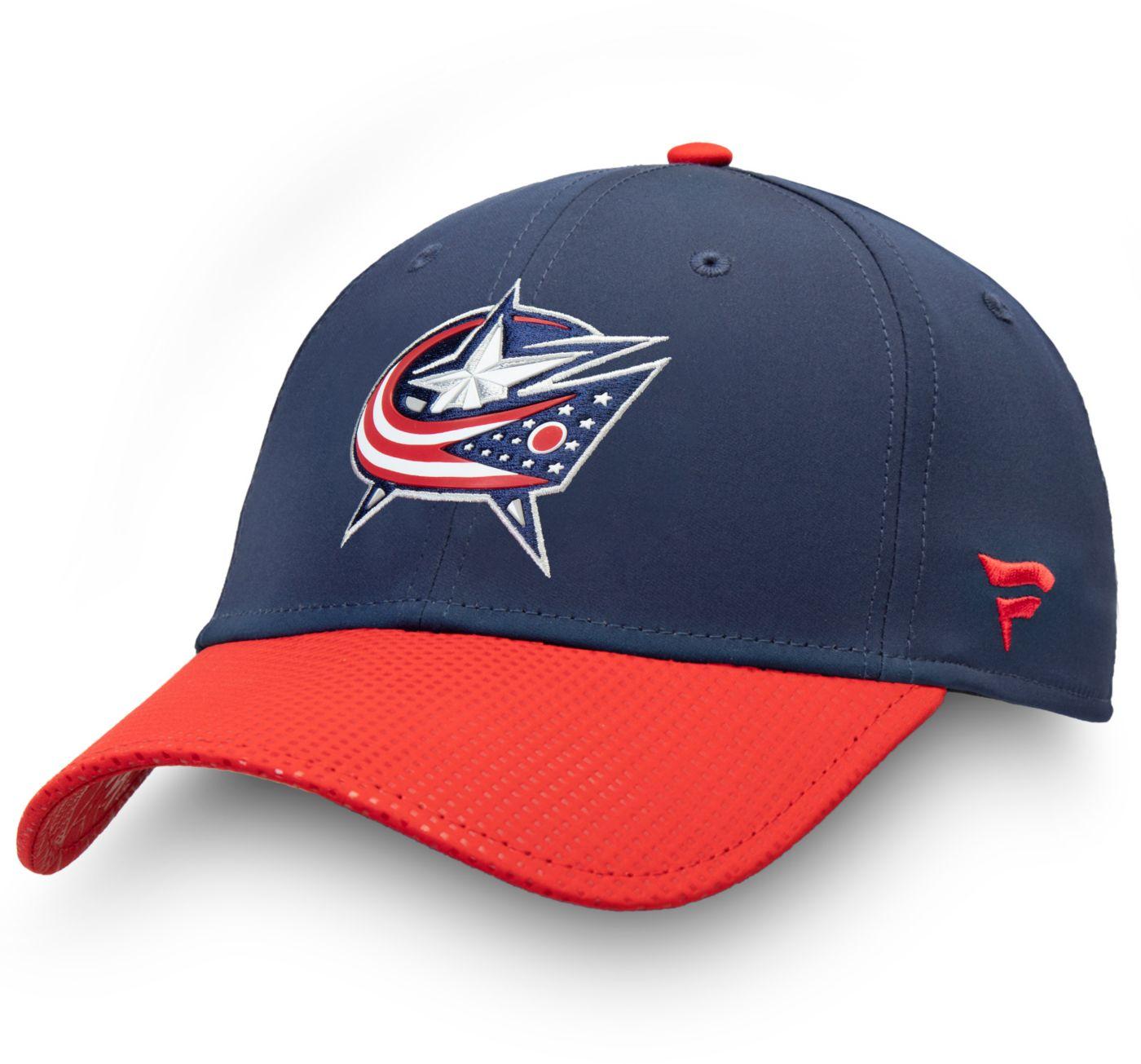 NHL Men's Columbus Blue Jackets Draft Flex Hat