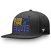 NHL Men's 2019 NHL Stanley Cup Champions St. Louis Blues Blood Type Blue Snapback Adjustable Hat