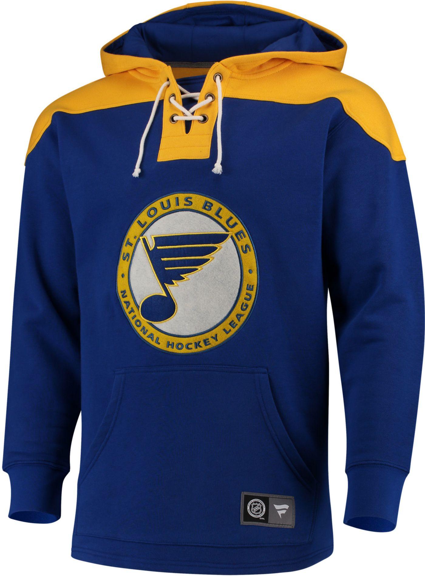 NHL Men's St. Louis Blues Breakaway Royal Pullover Sweatshirt