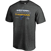 NHL Men's 2019 NHL Western Conference Champions St. Louis Blues Locker Room T-Shirt