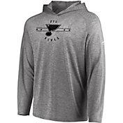 Majestic Men's St. Louis Blues Fan FLow Heather Grey Long Sleeve Hoodie Shirt