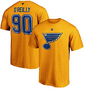 NHL Men's St. Louis Blues Ryan O'Reilly #90 Gold Player T-Shirt