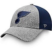 NHL Men's St. Louis Blues Marled Adjustable Hat