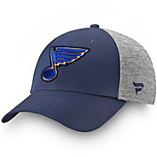 463e74c6898 Product Image · NHL Men s St. Louis Blues Logo Navy Flex Hat