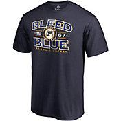NHL Men's St. Louis Blues Bleed Blue Navy T-Shirt