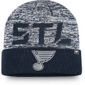 NHL Men's St. Louis Blues Clutch Cuffed Knit Beanie