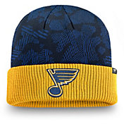 NHL Men's St. Louis Blues Iconic Cuff Knit Beanie