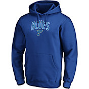 NHL Men's St. Louis Blues Engage Royal Pullover Hoodie