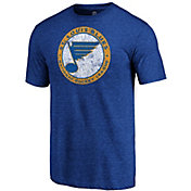 NHL Men's St. Louis Blues Throwback Royal T-Shirt